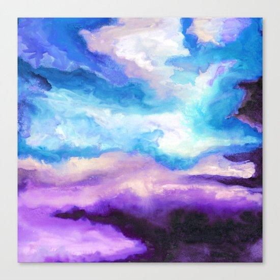 Noche Azul Canvas Print