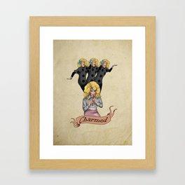 Katya & Trixie Charmed Framed Art Print