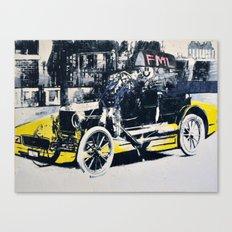 FML Taxi Canvas Print
