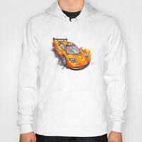f1 Hoodies featuring McLaren F1  by Claeys Jelle Automotive Artwork