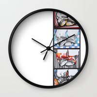 converse Wall Clocks featuring Converse by Creo