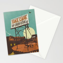 TAKE CARE OF EACH OTHER Stationery Cards