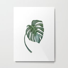 Monstera The One Metal Print