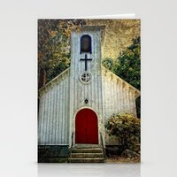 milan Stationery Cards featuring Milan Church by Colleen G. Drew