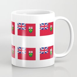 Flag of ontario -ontarian,ontarien,toronto,ottawa,heartland,huron,hamilton. Coffee Mug