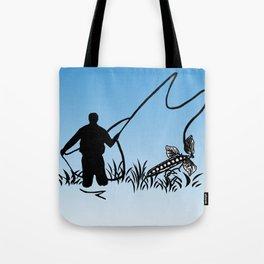 Podcasting (Winter) Tote Bag