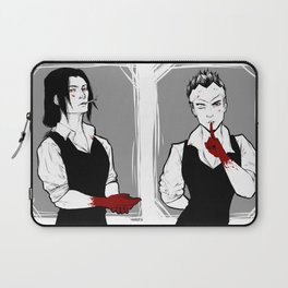 The clan won't need your service anymore Laptop Sleeve