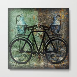 No Handlebars Needed Metal Print