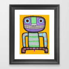 I want to pee! Framed Art Print