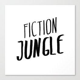 Fiction Jungle Book Blog Logo Canvas Print