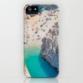 Seitan Limania Beach by Drone iPhone Case