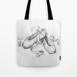 Ballet shoes Tote Bag
