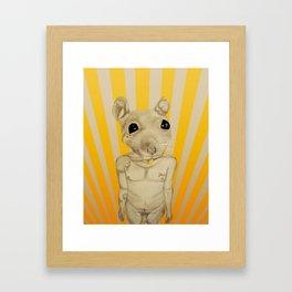 Common Street Rat Framed Art Print