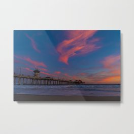 North Side Colors at Sunset Metal Print