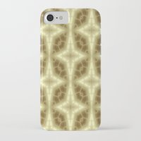 coasters iPhone & iPod Cases featuring Abstract Gold Pattern by Lena Photo Art