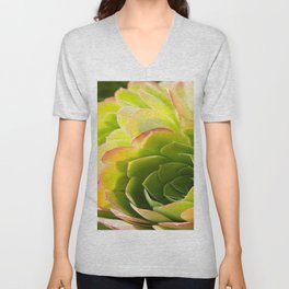 BEAUTIFUL SUCCULENT Unisex V-Neck
