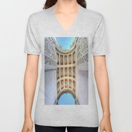 Dolmabahce Palace Istanbul Arch Unisex V-Neck