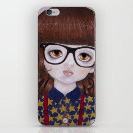 Margot- Hipster Girl iPhone Skin