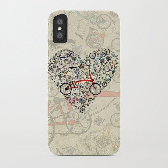 I Love Brompton Bikes iPhone Case