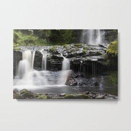 Blaen-y-glyn Waterfall 2 Metal Print