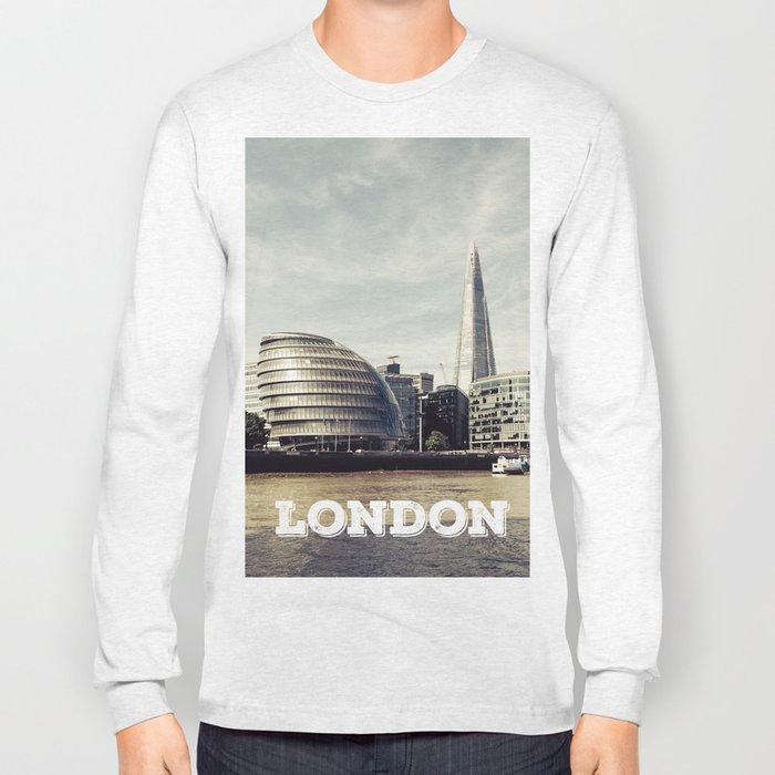 London city view Long Sleeve T-shirt