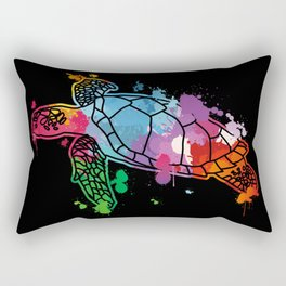 Sea Turtle Environmental Protection Animal Welfare Gift Rectangular Pillow