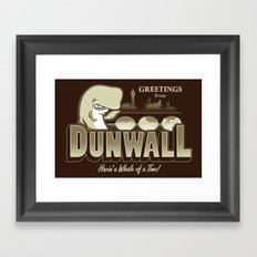 Greetings from Dunwall Framed Art Print