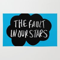 tfios Area & Throw Rugs featuring TFiOS by Hoeroine