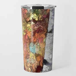 Aspen Trees Panorama Travel Mug