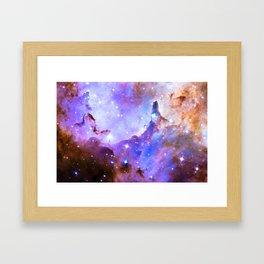 Intergalactic Stars Framed Art Print