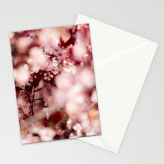 Pink Blooming Blossom Stationery Cards