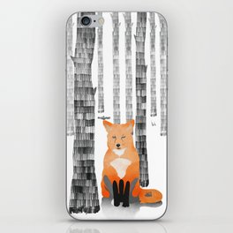 Out of the woods iPhone Skin