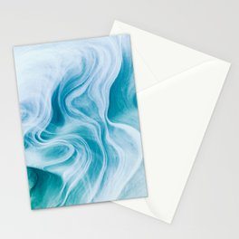 Marble sandstone - oceanic Stationery Cards