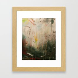 some where Framed Art Print