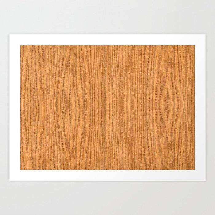 Wood 3 Art Print