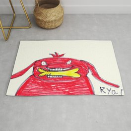 Clifford the Big Red Dog Rug