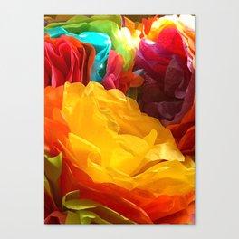 Fun Fiesta Flowers Canvas Print