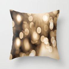 tiny bubbles  Throw Pillow
