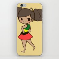 jamaica iPhone & iPod Skins featuring Jamaica 2 by Cat in the Box
