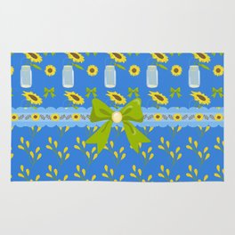 Sunflower Country Rug