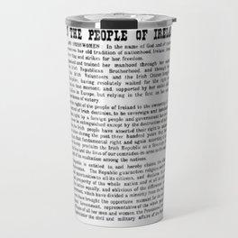 The Proclamation of the Republic Travel Mug