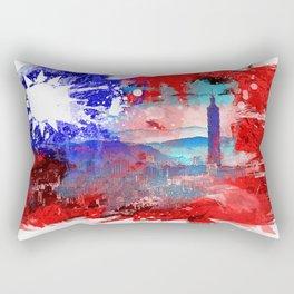 Taipei - Taiwan Rectangular Pillow