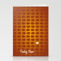 finding nemo Stationery Cards featuring Finding Nemo by Jason R
