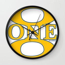 6ONE9 (619) Wall Clock