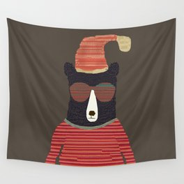 sutton bear Wall Tapestry