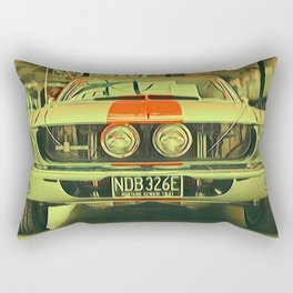 Powerful Rectangular Pillow