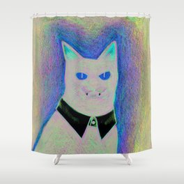 The Great Houdini Shower Curtain