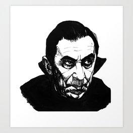 Bela Lagosa's Dracula Art Print