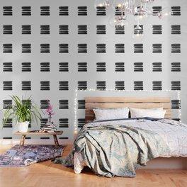 Stripes - No Comment #1 #minimal #painting #decor #art #society6 Wallpaper