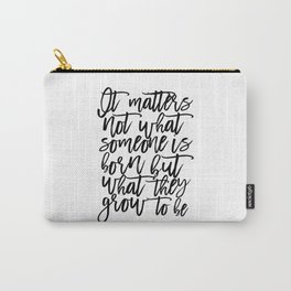 bedroom Quote,Baby Print,Kids Room Decor,Children Quote,Kids Gift,Inspiration,Bedroom Decor Carry-All Pouch
